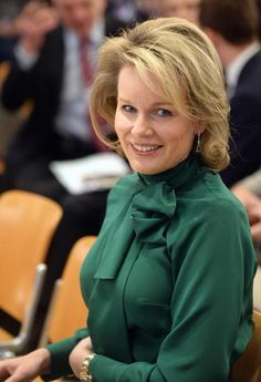 Queen Mathilde and King Philippe attend the World Economic Forum 2016