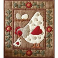 "Amazon.com: Rachel's Of Greenfield Spotty Hen Quilt Kit-13""X15"": Arts, Crafts & Sewing"