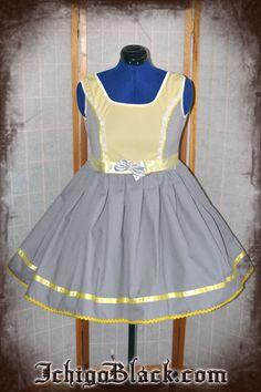 Lolita babydoll cosplay dress inspired by derpy pony by ichigoblack on Etsy https://www.etsy.com/listing/110366559/lolita-babydoll-cosplay-dress-inspired