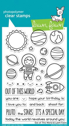 out of this world                                      $15.00