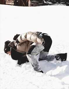 Taemin running around in snow is one of the most adorable things I have ever seen. ♥