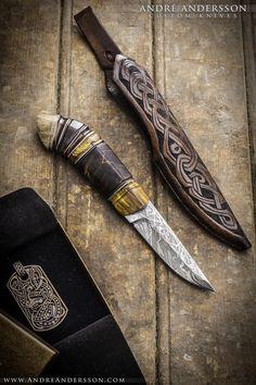 Новые ножи | Андре Андерссон Пользовательские Ножи