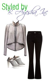 Trend I Love - Flare Denim Jeans Pt. 1 by b-ayesha on Polyvore featuring Chanel, Parisian and H&M