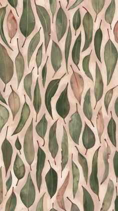 leaf pattern illustration by natalie ryan Pretty Patterns, Beautiful Patterns, Color Patterns, Leaf Patterns, Motifs Textiles, Textile Patterns, Textile Design, Textile Prints, Fabric Design