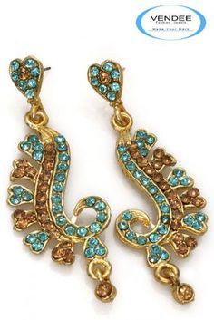 Modern Fashion Diamond Earrings