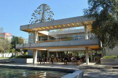 Café Literario del Parque Bustamante, Santiago de Chile.
