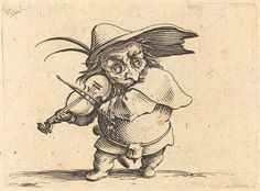 The Violin Player | Jacques Callot, The Violin Player (ca. 1622)