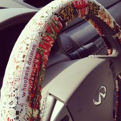 $20 70's Steering Wheel Cover #hippie #boho