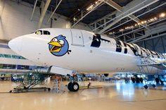 Angry Birds @ Finnair