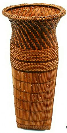 Basket from the Chokwe people of Angola | 20th century.