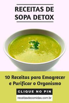 Carb Detox, Dietas Detox, Detox Soup, Caldos Low Carb, Sopas Low Carb, Sopa Detox, Healthy Style, Veggie Soup, Dukan Diet