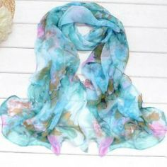Hot Sell Elegant Sweet Style Flower Print Scarf (COLOR ASSORTED) China Wholesale - Sammydress.com