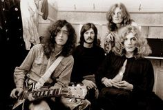 Jimmy Page, John Bonham, John Paul Jones, and Robert Plant. Rock n Roll Gods