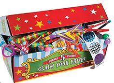 Great carnival redemption kit!  Jilly Bean Kids