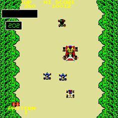 Bump 'n Jump - Title screen image