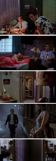 In The Mood For Love - Directed by Wong Kar Wai. Director of Photography: Christopher Doyle