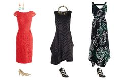 How to create a capsule wardrobe, capsule wardrobe occasion dresses