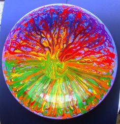 """Ceramica """"fuochi sul mare""""  cm. 40 anno 2012"""