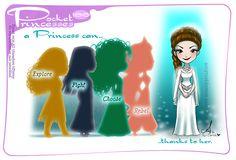 Pocket Princesses 186: Legacy Please reblog, do not repost, edit or remove credits Facebook ~ Instagram