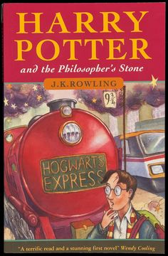 Harry Potter and the Philosopher's Stone by J. K. Rowling - just started re-reading these books, I'd forgotten how brilliant they are!