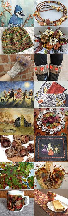 Celebrating Fall! by Judith Petersen on Etsy--Pinned with TreasuryPin.com