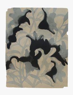 MOMENT '11-10  安井良尚  Yoshihisa Yasui <Lithography(1 stone plate) 68,3×53,0cm Izumi paper 2011>