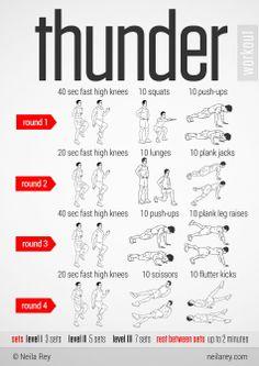 Thunder Workout