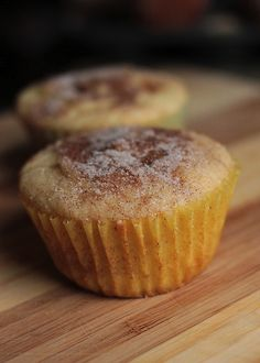 snickerdoodle muffins.  Just made them....AMAZING!!!!! cs
