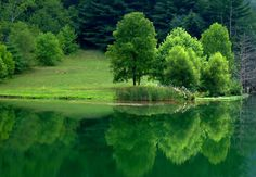 Lincoln County Lake, West Virginia...