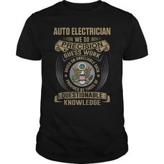 AUTO ELECTRICIAN - WE DO NEW - #mom shirt #tshirt summer. GET IT => https://www.sunfrog.com/LifeStyle/AUTO-ELECTRICIAN--WE-DO-NEW-Black-Guys.html?68278