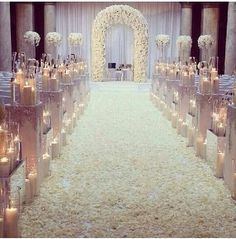 A beautiful arch for the ceremony