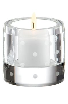 kate spade 'larabee dot' votive candle holder http://rstyle.me/n/dpkwpr9te