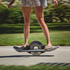 "A Silicon Valley inventor has created a vehicle that looks like a skateboard balanced on a single wheel and allows users to ""surf on land"". Robotics expert Robert Bigler designed the Hoverboard to transport individual users at speeds of up to 20 miles per hour. Read the full story on http://ift.tt/1PbAxtR #design #technology by dezeen"