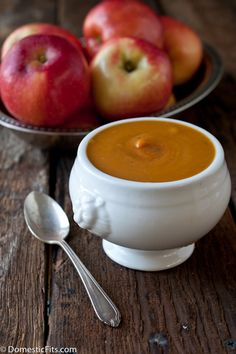 Sweet Potato Apple Soup @Jackie Godbold Godbold Dodd