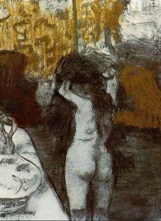 Edgar Degas, Après le bain 1876-77