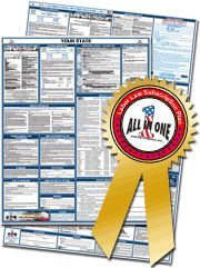 AllinOnePosters prints all labor law posters that employers can easily order for they are obliged to show certain posters in the working environment where laborers can see them. Best employment posters are here!