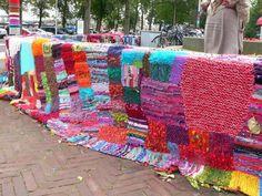 Wildbreiproject gemaakt door het leer werkbedrijf Oostereiland in Hoorn www.lindevrouwsweb.blogspot.com