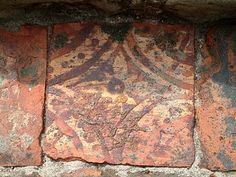 Haughmond Abbey, medieval tiles