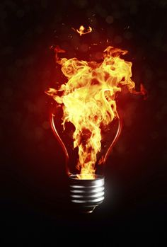 Fire Light Bulb: Free Video Series - How To Make Money From Any Mobile Device: My Major  Lightbulb Moment - Everything Changed For Me After This:,Lighting