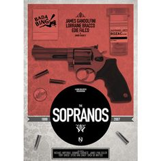 Sopranos Print A3now featured on Fab
