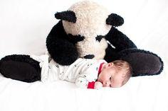 Love the Panda & Baby photo idea!!