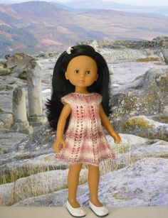 Tuto robe évasée et ajourée, Laramicelle (réalisée par MarieLN)