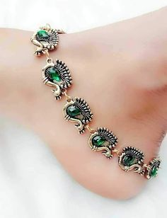 Silver jewelry Design Beautiful - - Silver jewelry Necklace Long - Silver jewelry Hand Made Ideas Payal Designs Silver, Silver Anklets Designs, Silver Payal, Anklet Designs, Ring Designs, Silver Jewellery Indian, Silver Jewelry, Silver Ring, 925 Silver
