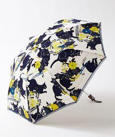 【日傘】夜空猫日傘