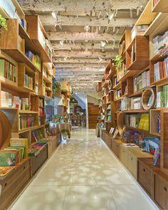 ARQUITETANDO IDEIAS: Livrarias infantis cheias de criatividade - Republ...