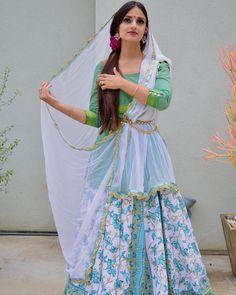 "Rajkumarie on Instagram: ""The beauty of Spring #springcollection #cottonkurti #cottonsuits #gopiskirts #lehengacholi"" Lehenga Saree, Sarees, Spring Collection, Kurti, Floral, Cotton, Beauty, Instagram, Dresses"