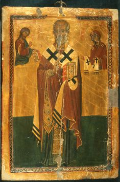 Saint Nicholas with Christ and the Virgin · The Sinai Icon Collection Literature Art, Painting, Art, Wall Painting, Best Icons, Byzantine Icons, Christian Art, Saint Nicholas, Byzantine