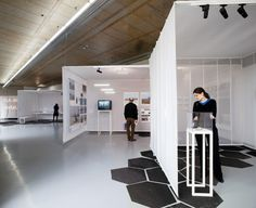 Textile Shipping Containers by Overtreders (Portscapes Exhibition 2010 - Rotterdam, Netherlands)