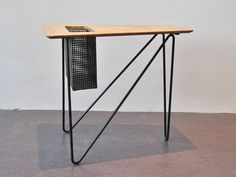 Complete Set of 3 Different Magazine Tables by Cees Braakman for Pastoe, 1950s 8