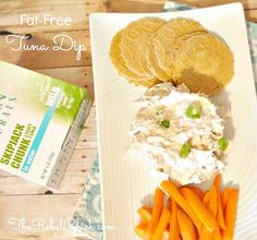 Healthy Tuna Recipes: Fat-Free Tuna Dip Recipe with Ocean Naturals - The Rebel Chick